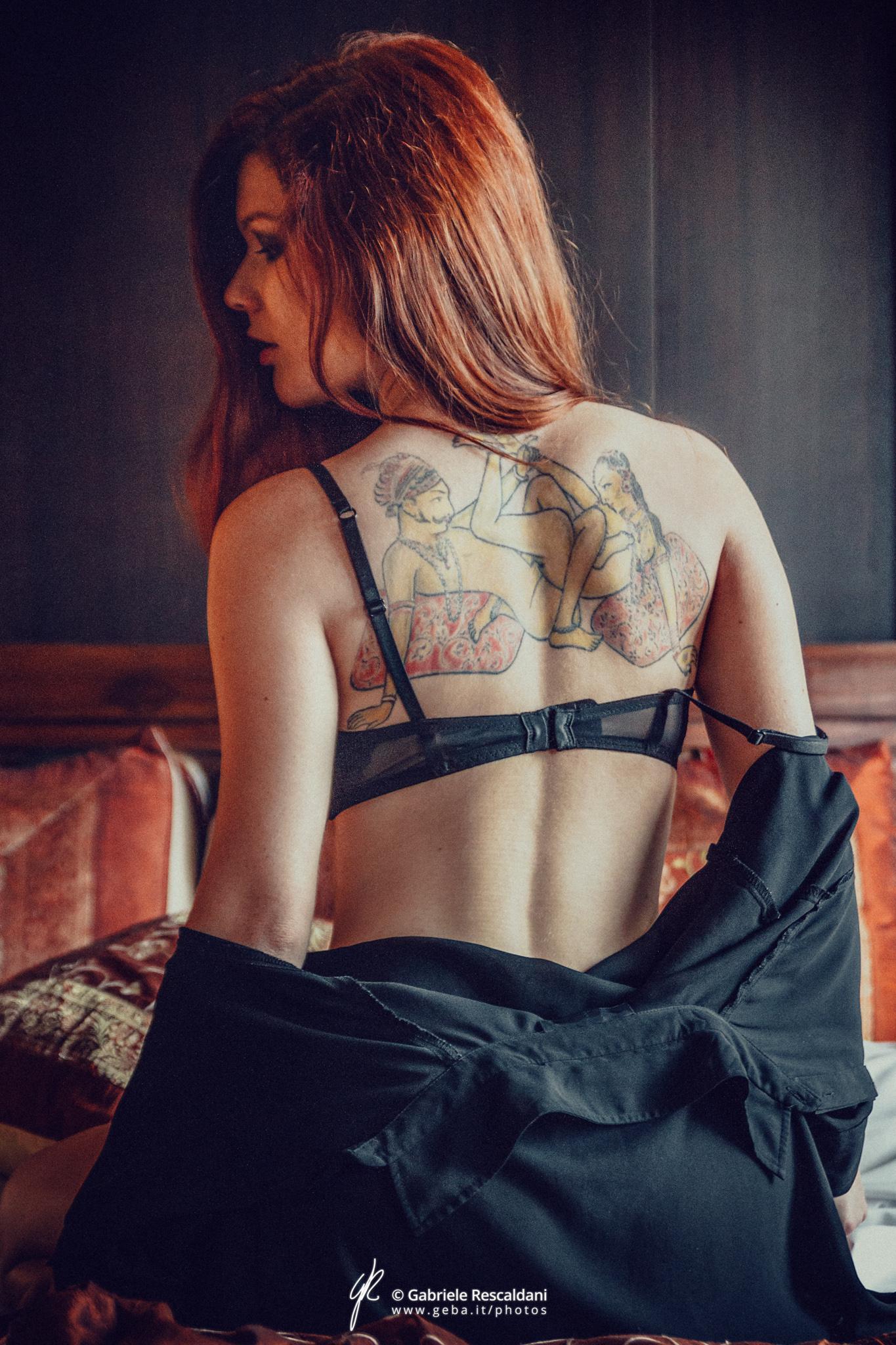Dirty pages of room 101 / Грязные страницы номера 101 / Gabriele Rescaldani / Mia Sollis