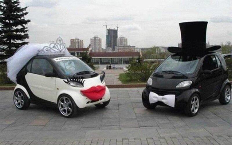 Свадебные средства передвижения: оригинальные альтернативы лимузину