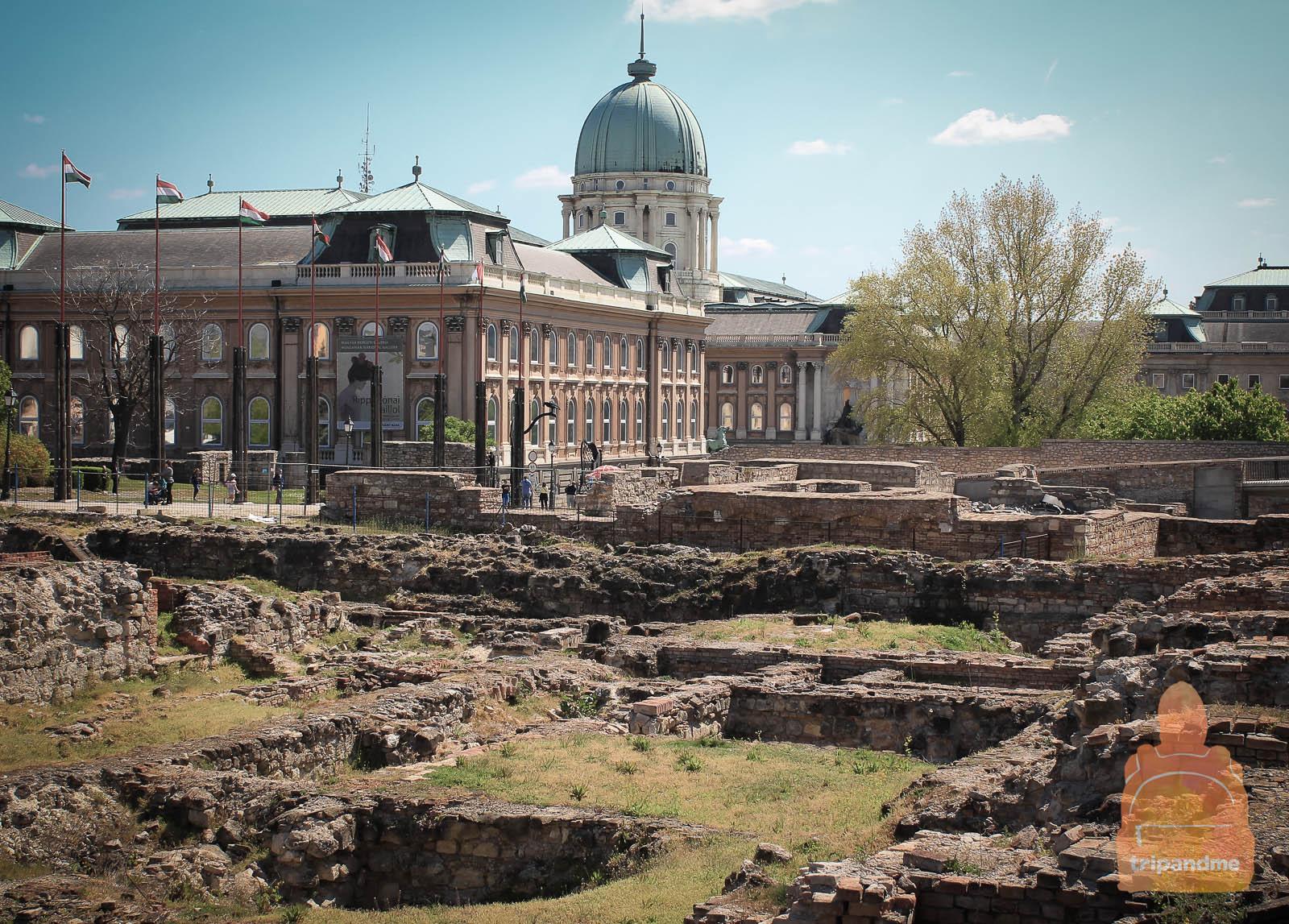 Королевский дворец и древние развалины