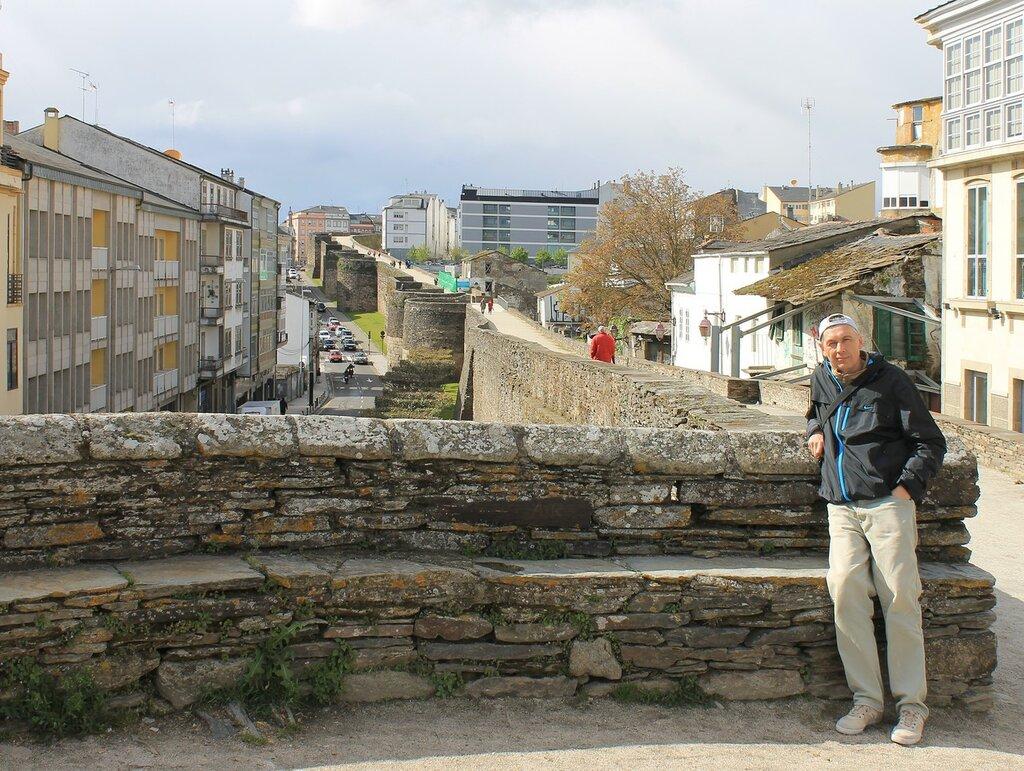 Луго. Прогулка по городской стене