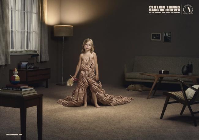 Рекламное агентство McCann Erickson разработали кампанию для организации поборьбе сжестоким обраще