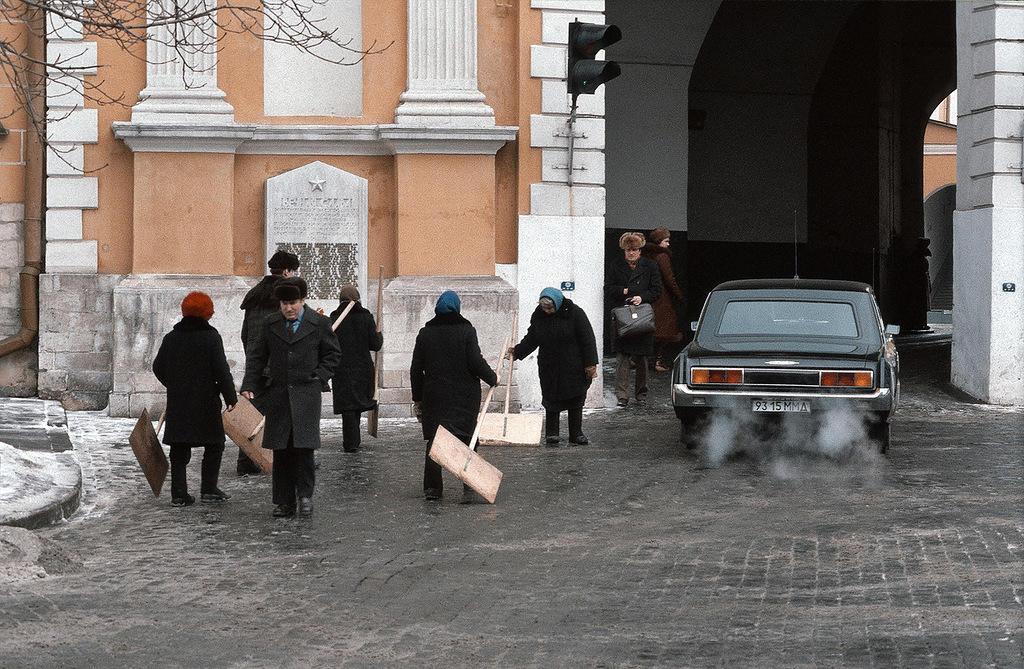 Кремлевские дворники.