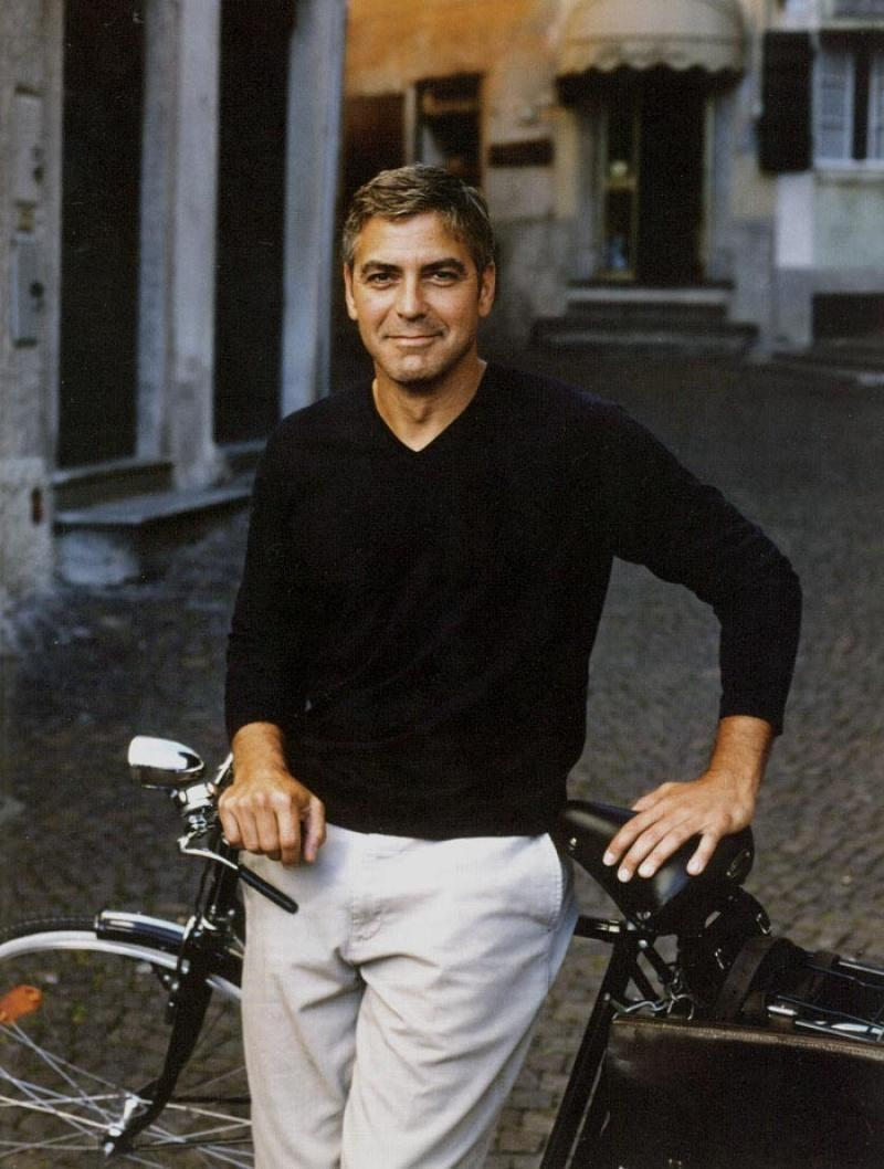 27. Любимчик публики Джордж Клуни Знаменитые красавицы