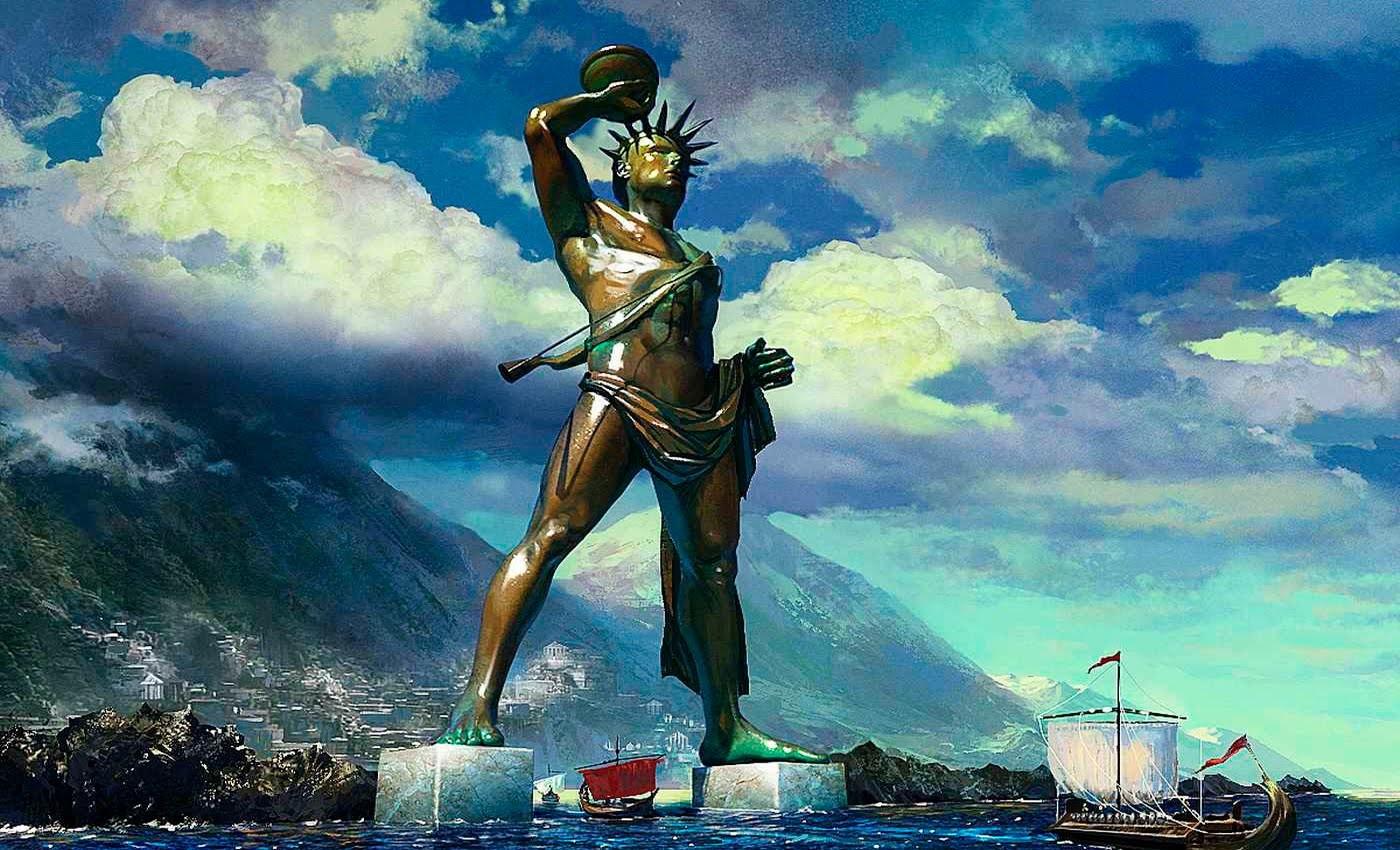 Семь чудес света против современных монументов (15 фото)