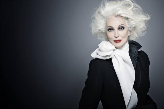 Кармен Делль'Орефиче, 85 лет Эта леди из Америки была занесена в Книгу рекордов Гиннесса как модель
