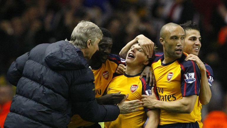«Ливерпуль» обыграл «Арсенал» ивышел на 3-е  место