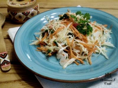 Витаминный салат для похудения