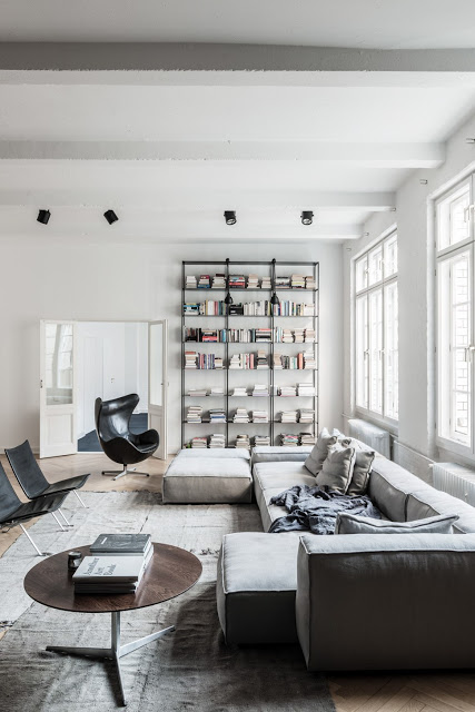 Classy Berlin Loft by Annabell Kutucu - Your Daily Architecture & Design Update
