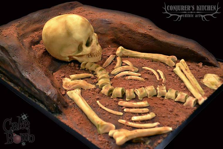 Culinary Anatomy - The creepy and too realistic cakes of Conjurer's Kitchen