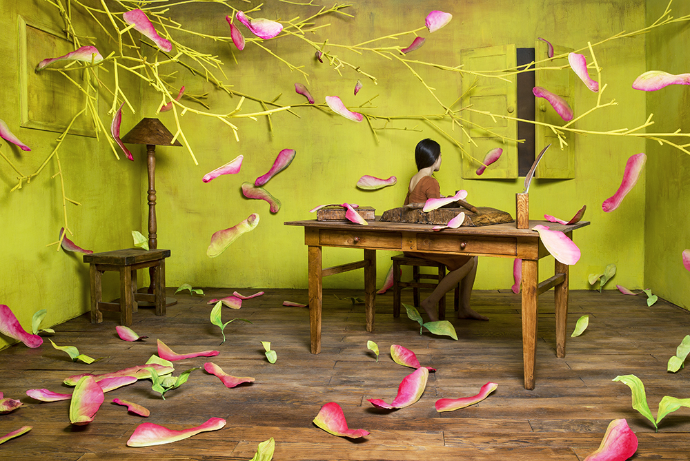 New Dreamlike Scenes from Inside JeeYoung Lee's Tiny Art Studio
