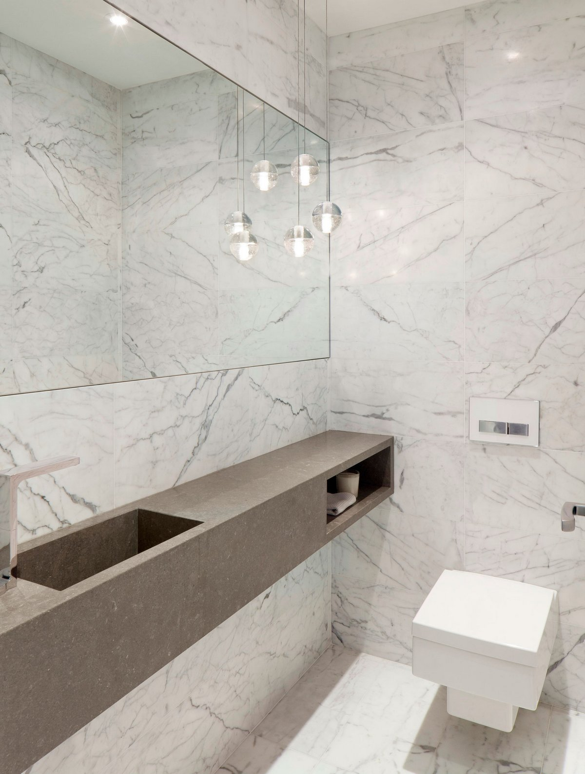 DUBBELDAM Architecture + Design, Annex House, Торонто, Канада, реконструкция частного дома фото, современные частные дома фото, дворик частного дома