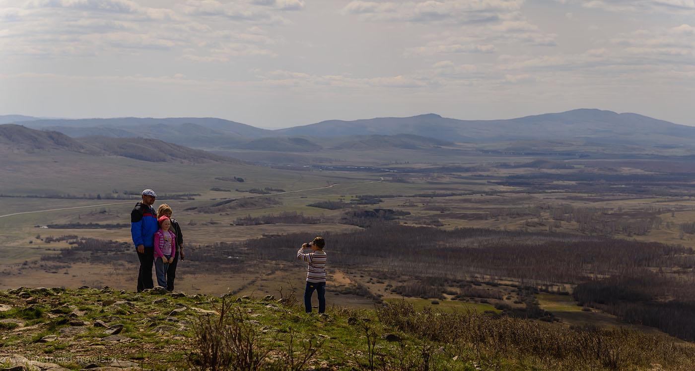 Фотография 8. Виды с горы Ауштау на Юг. Объектив Nikon 24-70mm f/2.8, поляризационный фильтр Hoya HD Circular-PL. Параметры съемки: 1/250, -1.0, 8.0, 100, 70.