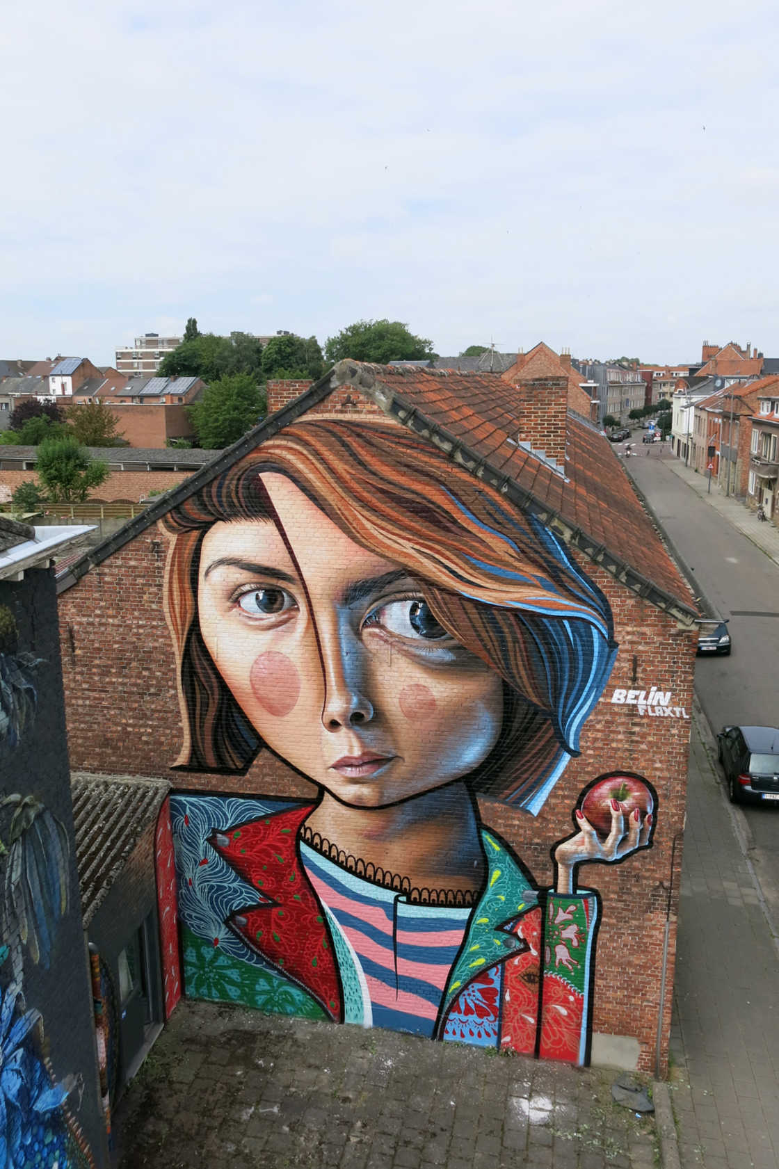 Between Cubism and Realism, the amazing street art creations by Belin