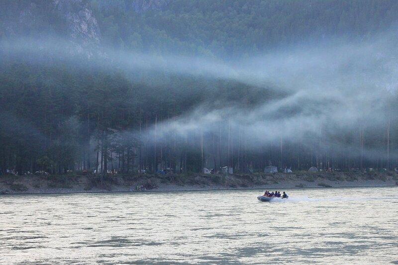 Россия, Алтай - река Катунь (Russia, Altai - Katun River)