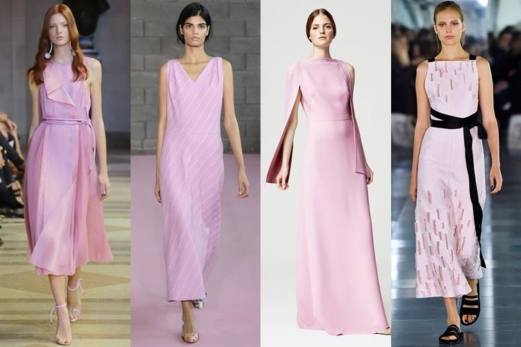 модные цвета весна лето 2016 - светлый розовый