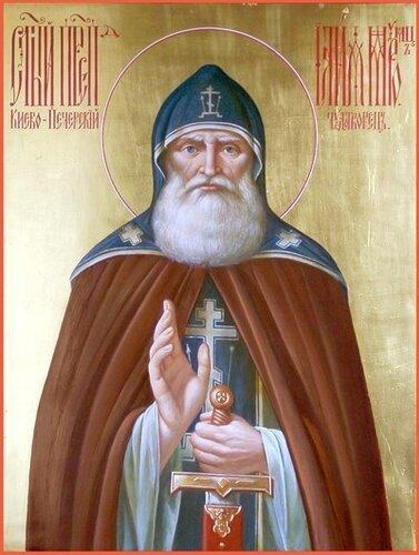 Преподобный Илья Муромец Печерский
