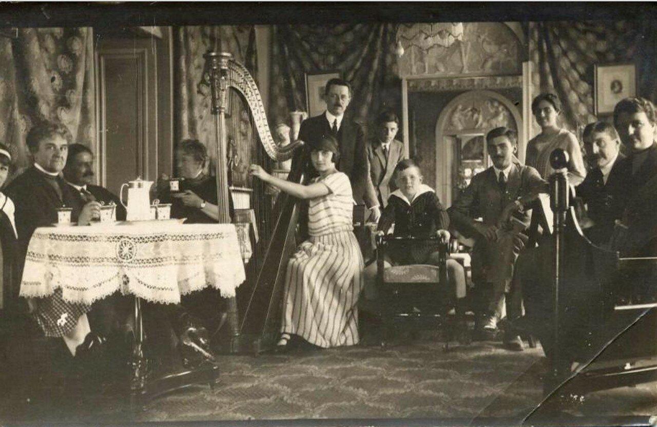 1900-е. Чаепитие