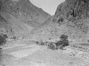 Вид южной части Алайской долины