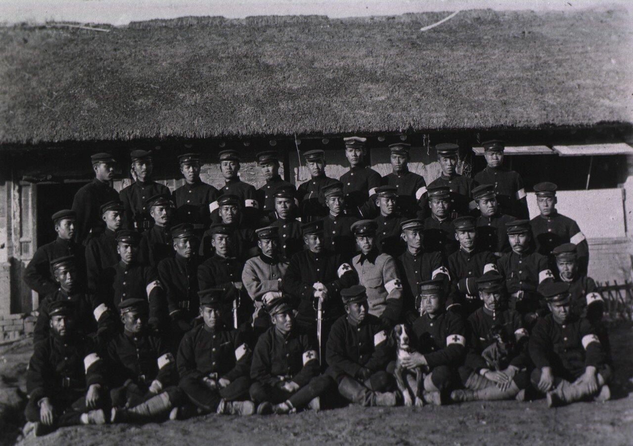 Японский персонал Красного Креста