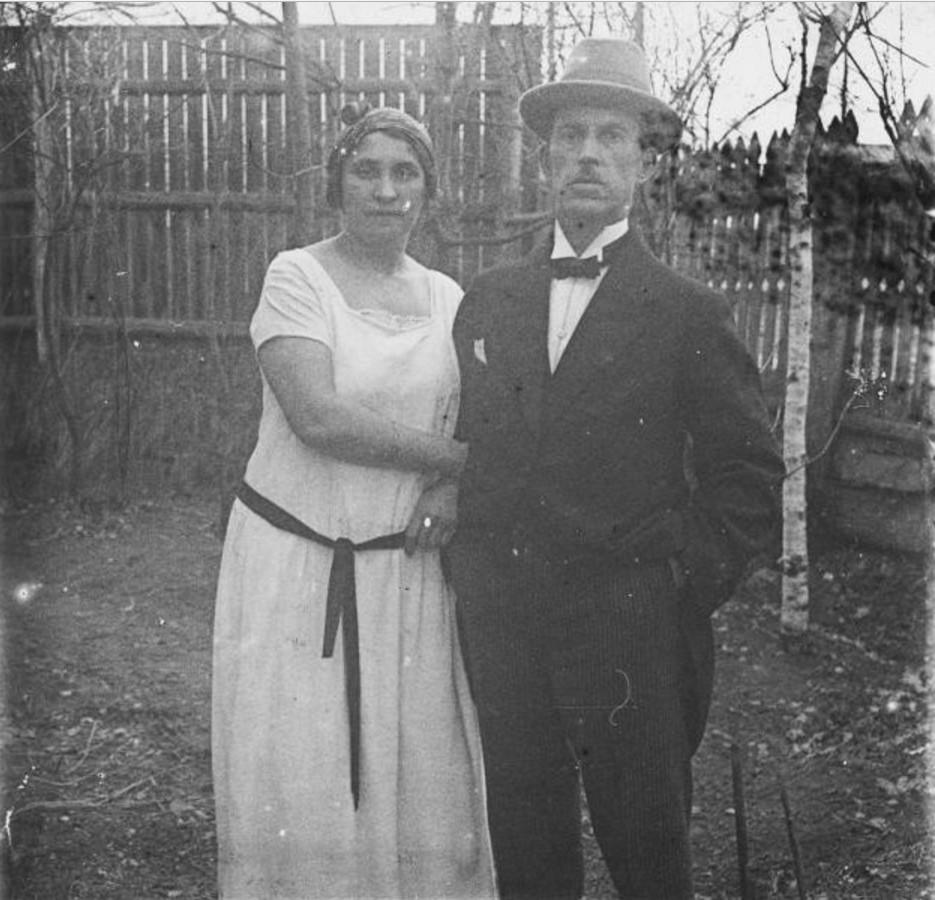 Иван Васильевич Авдонин с женой, А. Н. Авдониной