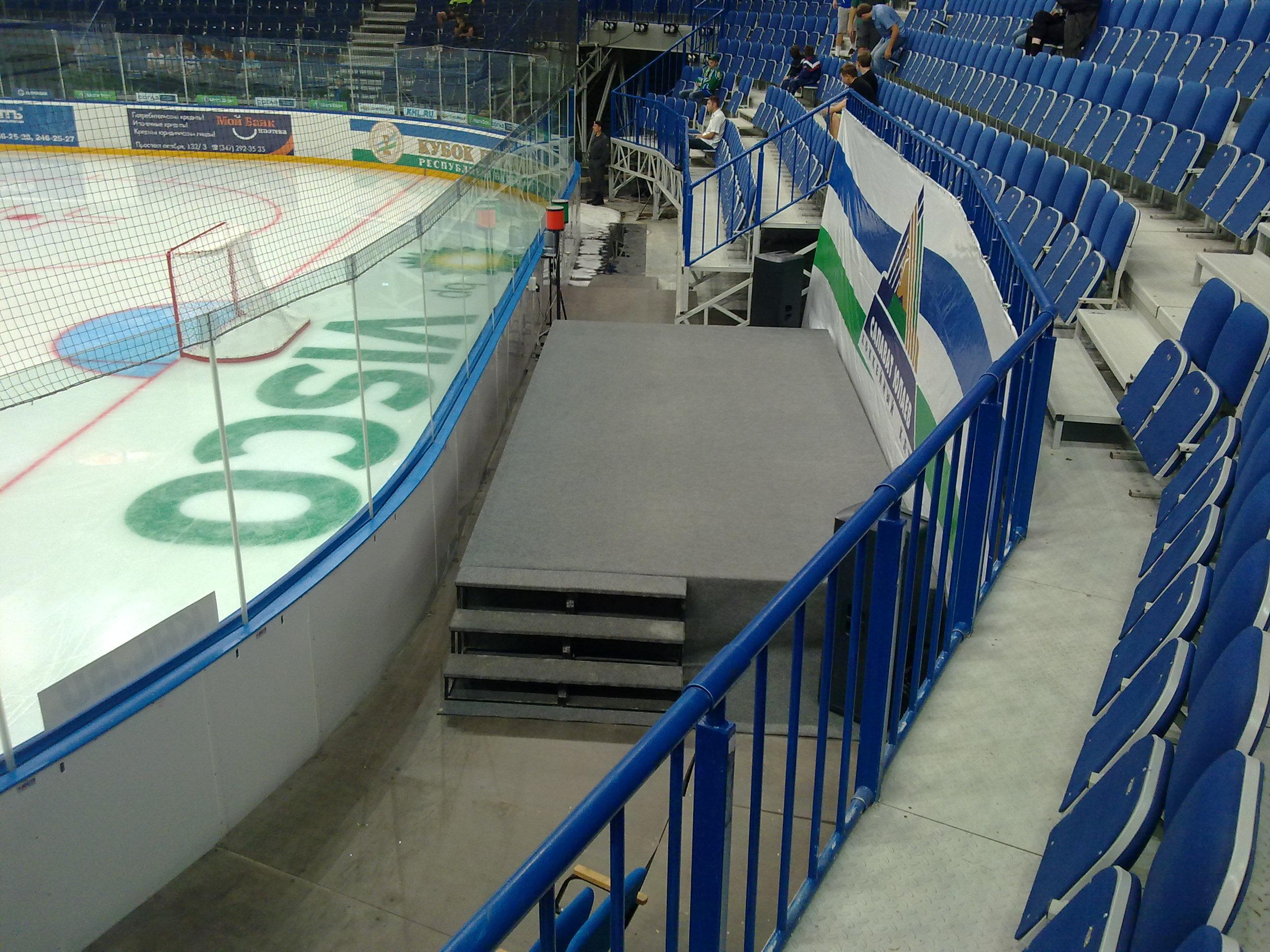 схема арены ледовый дворец череповец