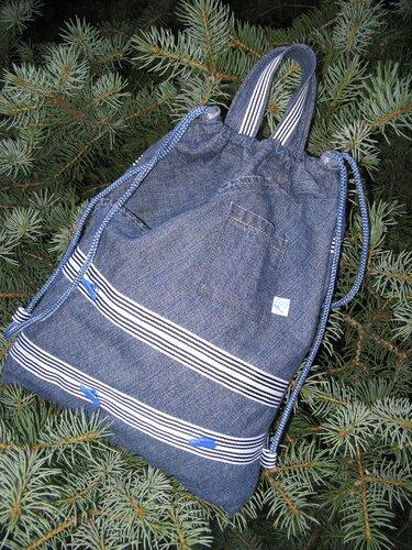 Выкройка рюкзака из кожи.  Выкройка дракона Лорана.  Уроки шитья.