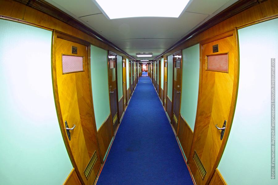 коридор средней палубы