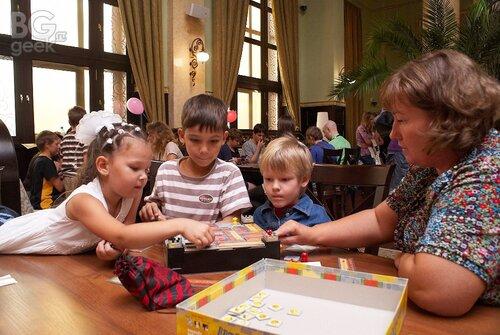 настольная игротека, настольная игра Сырный замок / Burg Appenzel