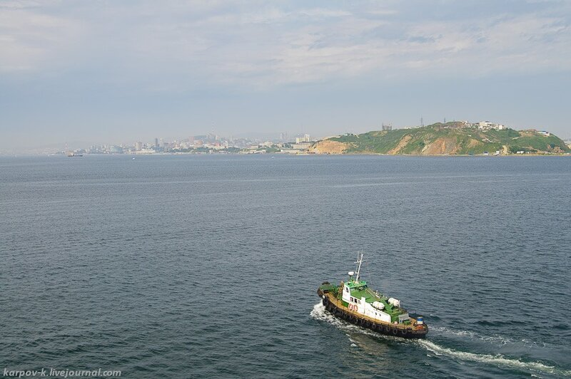 Поездка в Корею. ч.1 - Паром