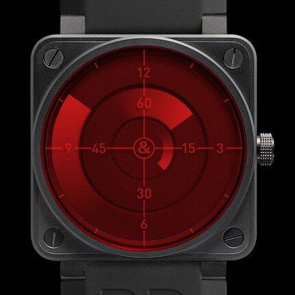 Bell & Ross — BR 01 red radar