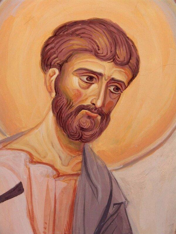Святой Апостол Варфоломей. Иконописец А. Н. Солдатов.