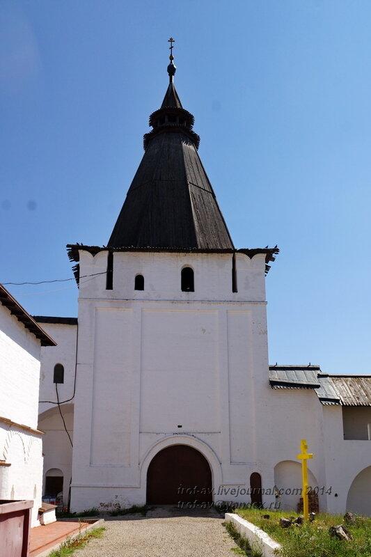 Георгиевская (Знаменская), башня Свято-Пафнутиев Боровский монастырь
