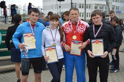 Рябчинские спортсмены - победители районных соревнований.