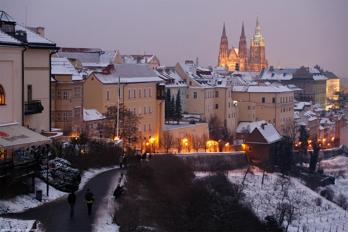 фото, фотография, Прага, новый год, праздники, зима