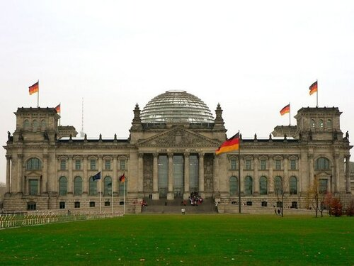 берлин, германия, рейхстаг