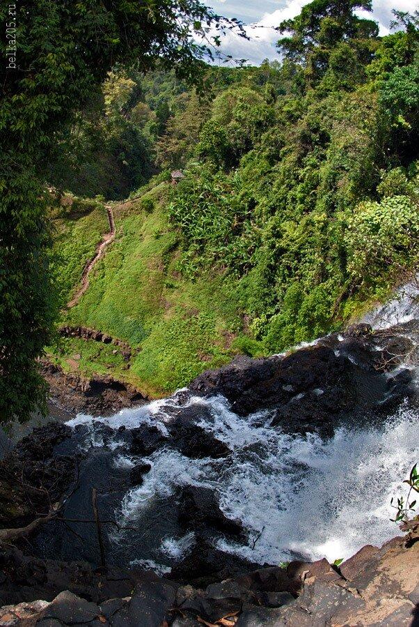 Laos, Pakse, плато Болавен (Bolaven Plateau), Водопад Тат Юанг (Tat Yuang)