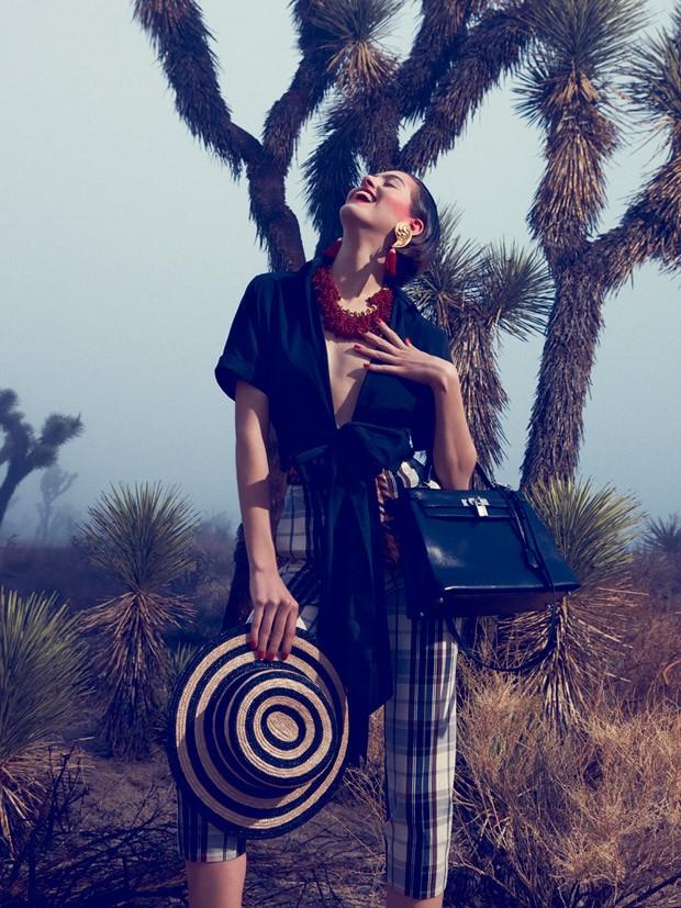 Афина Уилсон (Athena Wilson) в журнале Harper's Bazaar Germany (8 фото)