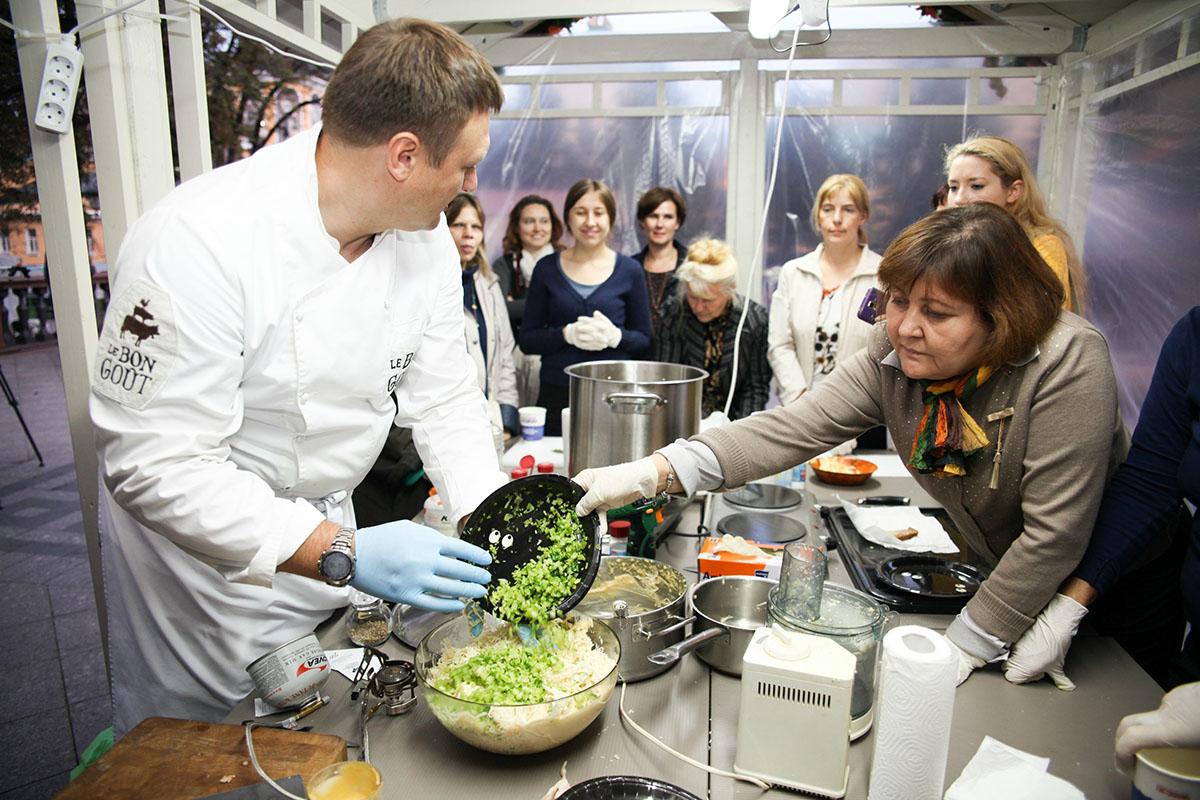 6. Кулинарные занятия разные: например, по локаворской кухне — кулинарному тренду, набирающему оборо