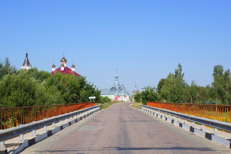Бывалино. Мост через речку Дрезна
