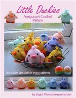 Журнал Little Duckies Amigurumi Crochet Pattern jpeg 22Мб
