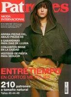 Журнал Patrones №216 2004 Internacional