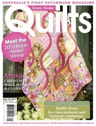Down Under Quilts №145 2010
