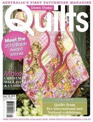 Журнал Down Under Quilts №145 2010