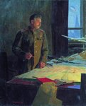 Генералиссимус И. В. Сталин (худ. Ф. Решетников, 1948)