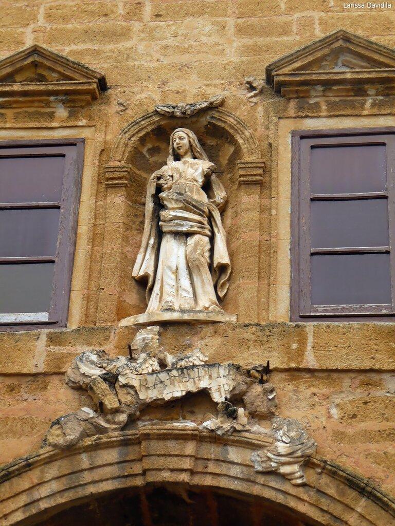 La chiesa di Maria Santissima della Catena.