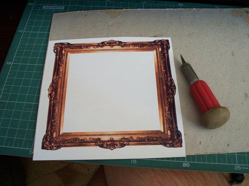 С чего сделать рамку для картины своими руками фото