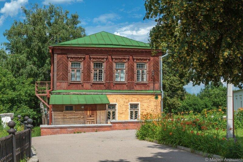 Дом причта, Рязань