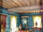 """Дом Красикова 1861г, без фундамента(или он же """"лежневый фундамент"""")  в этнографическом музее улан-удэ"""