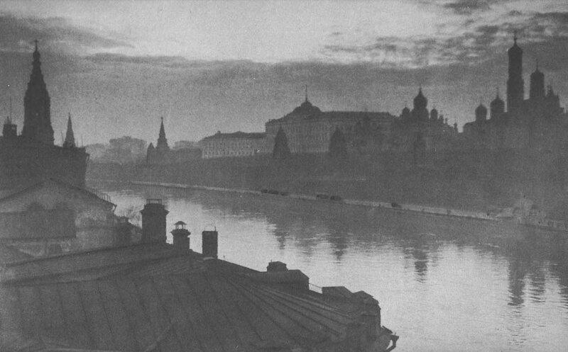 Московский Кремль. 1932 год. Фотограф Джеймс Эббе.