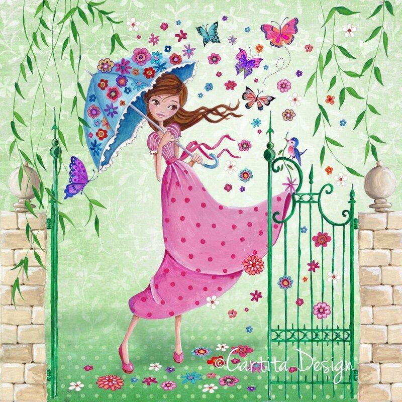 С днем рождения женщине художнику открытки красивые